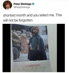 I do not watch Game of Thrones, but I love this guy.
