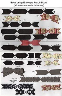 Paper Bows