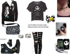"""""""Nightmare Before Christmas"""" by love-and-music ❤ liked on Polyvore"""