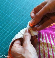 Poser des pressions... - Fleurs d'Orangette Techniques Couture, Creations, Scrappy Quilts, Coin Couture