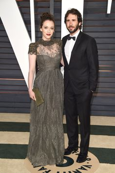 Josh Groban and Kat Dennings attend 2015 Vanity Fair Oscar Party hosted by Graydon Carter at Wallis Annenberg Center for the Performing Arts on Feb. 22, 2015, in Beverly Hills, California.   - Redbook.com