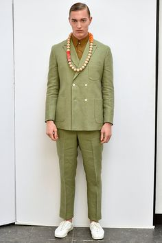A look from the David Hart Spring 2016 Menswear collection.