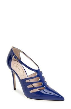 SJP by Sarah Jessica Parker SJP 'Denise' Patent Leather T-Strap Pump (Women) available at #Nordstrom