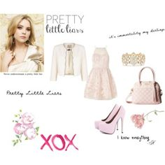 Pretty Little Liars Hanna Marin ♡ Pretty Littleliars, Pretty Little Liars Hanna, Hanna Marin, Pink Handbags, Platform Pumps, Cute Outfits, Girly Outfits, Betsey Johnson, Streetwear Brands