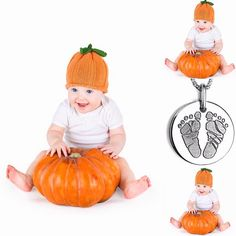 Trick-or-treat your Pumpkin's feet! Ok it's back baby posts--My Baby Prints! #personalized #babyprints #inklesswipekits #halloween #silver #footprint #necklace #instaphoto #instagood  #instacute #instamoments #instabeauty #fun #happy #family #kids #children #memories #babyshowers #little #baby #hand #foot #photooftheday #smile #instababy #instaframe #instalife #instalove  JGP M.D. www.mybabyprints.com