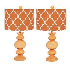 Casa Cortes Hollywood Regency 26-inch Artisan Glass Table Lamp - Set of 2 - Overstock Shopping - Big Discounts on Casa Cortes Lamp Sets