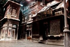"""A Christmas Carol"" stage scenography- Designed by Walt Spangler"