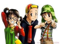 personagens de desenhos em versao anime - Pesquisa Google