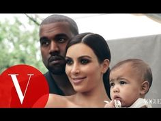 And there's a really cute video of Kim, Kanye, and their daughter North on Vogue.com. | Kim Kardashian Finally Got A Vogue Cover