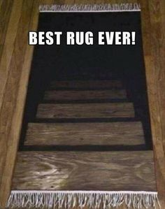 #optical illusion #rug