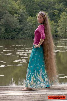 Sabine ...wonderful ankle length hair♥