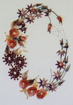 Love to Stitch 99: Shades of Autumn: Brazilian Embroidery