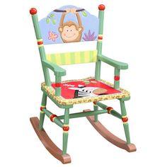 painted chair - safari