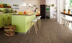 Quick Step Laminat Parke - Bubinga Parke ve Yer Kaplama Grey Laminate Flooring, Installing Hardwood Floors, Wide Plank Flooring, Engineered Hardwood Flooring, Parquet Flooring, Wood Laminate, Birch Floors, Real Wood Floors, Cardiff