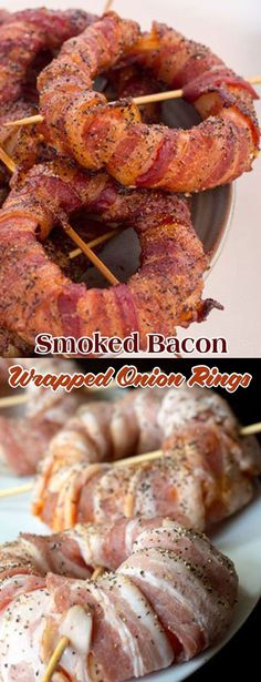 The Smoked Bacon Wrapped Onion Rings