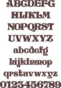 Scroll Saw Letters And Numbers Templates Here S A Font