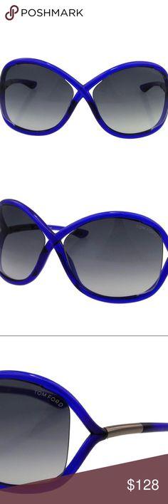 608c3ffcc1 Tom Ford Whitney Blue Sunnies👓 Tom Ford Whitney Blue Sunnies👓 Classic  style with laser