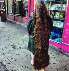 Wonderful long mono dread from New York