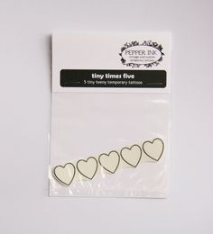 Temporary Hearts Tattoos