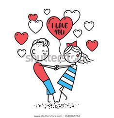 Стоковая векторная графика «Lovers Boy Girl Hold Hands Spin» (без лицензионных платежей), 1640563264