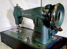 Vintage Baldwin Sewing Machine, made in Japan and Restored by Stagecoach Road Vintage Sewing Machine