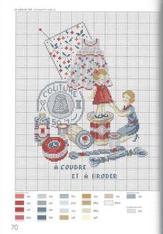 Véronique Enginger ''Mon atelier au fil des saisons à broder au point de croix''