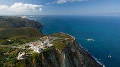 Cabo da Roca, meest westelijke punt van Europa