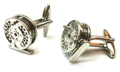 Fly Fishing Cufflinks. Ha! Style and lifestyle!