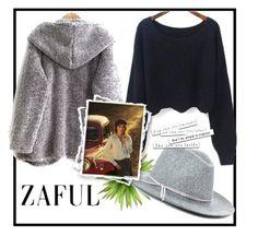 """Zaful 17/2"" by erina-salkic ❤ liked on Polyvore"
