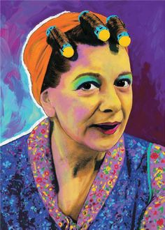 Central Station Design Paint Coronation Street: Hilda Ogden