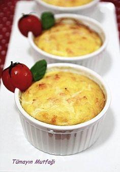 Sebzeli Peynirli Sufle