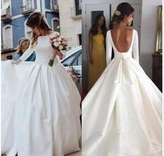 2019 Colorful Flowers Wedding Dress, Ball Gown Long Wedding Dresses, Satin Wedding Gown Bridal Dress sold by MissZhu Bridal. Shop more products from MissZhu Bridal on Storenvy, the home of independent small businesses all over the world. Perfect Wedding Dress, Cheap Wedding Dress, Bateau Wedding Dress, Wedding Dress Backless, Gown Wedding, Poofy Wedding Dress, Modest Wedding, Lace Wedding, Simple Wedding Gowns