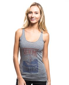 "Women's ""Healing Waters"" Triblend Racerback Tank - For every item purchased Sevenly donates $7 to Surfer's Healing to help fund surf camps for children with autism. #SevenlySendsJoy"