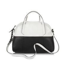 Francesco Biasia Ari Color-Block Large Leather Bowler- black white http://www.zoanne.com/bags/Francesco-Biasia-Ari-Color-Block-Large-Leather-Bowler $335