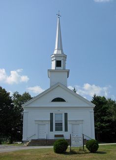 Sandy Point Congregational Church, Stockton Springs, Maine – 3G grandfather was minister of this church during 1850s