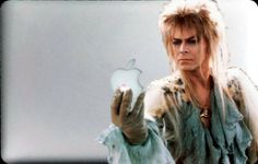 """David Bowie in Labyrinth Decal for 11"""" Macbook Air -"""