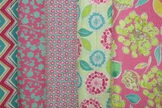 Moda has shipped this beautiful collection called, Spring House.  Bright Hopes Quiliting also has coordinated layer cakes.  Call today: 985-845-9554