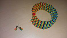 bratara multicolora