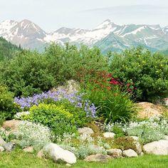 Alpiner Garten Gestaltung-Gartenplanung Ideen
