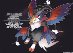 E Corp Special: Elraba by Dragonith on DeviantArt Pokemon Vs Digimon, Pokemon Mix, Pokemon Fusion Art, Pokemon Pokedex, Games Like Pokemon, Cool Pokemon, Pokemon Realistic, The Jersey Devil, Fantasy Comics