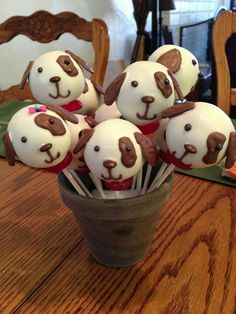Puppy cakepops