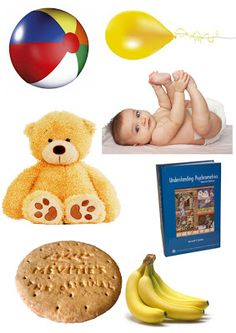 Resource: Pictures of objects start with letters A to Z. I love the pictures on this one. They would be great to use to make other games as well. Example: the baby is., or a banana tastes., or what would make a good birthday gift? Speech Activities, Letter Activities, Language Activities, Classroom Activities, Toddler Activities, Montessori Toddler, Speech Language Therapy, Speech And Language, Speech Therapy