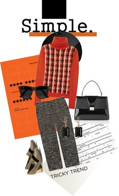 """Simple Solutions to Tricky Trends"" by mponte ❤ liked on Polyvore"