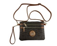 41128140c71 Small Cross body Messenger Purse Bag Woman Handbag With Removable Strap  Wrist Strap Clutch by Elite