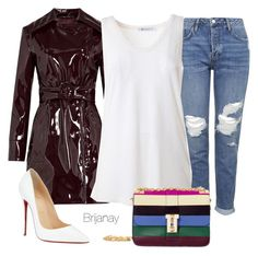 2/10/16 by briannacollins on Polyvore featuring polyvore, fashion, style, T By Alexander Wang, Maison Margiela, Topshop, Christian Louboutin, Valentino, women's clothing, women's fashion, women, female, woman, misses and juniors