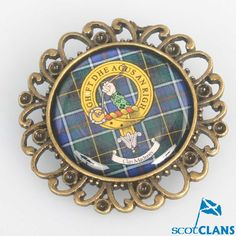 MacInness Clans Crest Brooch