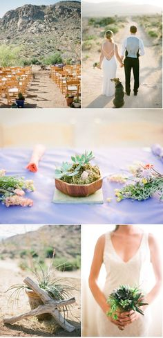 I always thought a California/New Mexico desert wedding would be something different and beautiful..