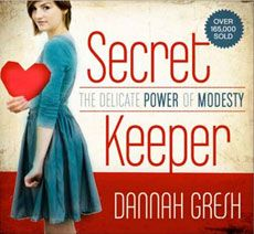 Secret Keeper - The Delicate Power of Modesty by Dannah Gresh