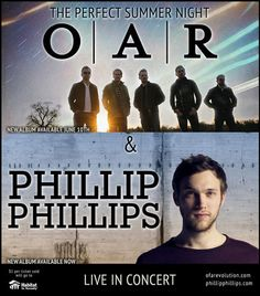 Phillip Phillips and O.A.R. Hit the Road to Help Habitat for Humanity