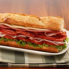 Classic Italian Sub. Head Grande Pepperoni with Hot Dry Capocollo, Genoa Salami, and Picante Provolone Cheese for a comforting and classic Italian sub. Deli Sandwiches, Sandwich Bar, Salami Sandwich, Roast Beef Sandwich, Sandwich Recipes, Italian Sandwiches, Subway Sandwich, Italian Hero Sandwich Recipe, Dinner Sandwiches